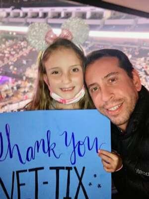 George attended Disney on Ice Presents Dream Big on Apr 21st 2021 via VetTix
