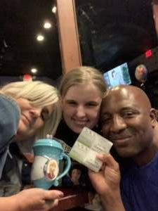 Larry attended Disney on Ice Presents Dream Big on Apr 21st 2021 via VetTix