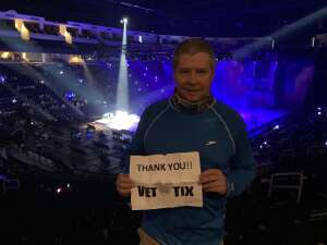 Mike attended Disney on Ice Presents Dream Big on Apr 25th 2021 via VetTix