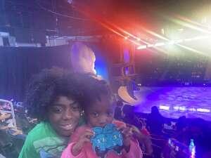 Doreen  attended Disney on Ice Presents Dream Big on Apr 25th 2021 via VetTix