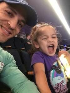 Dan attended Disney on Ice Presents Dream Big on Apr 25th 2021 via VetTix