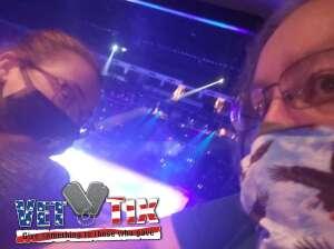 Danny  attended Disney on Ice Presents Dream Big on Apr 25th 2021 via VetTix