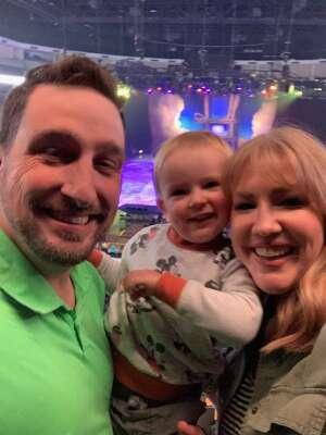 Nicole attended Disney on Ice Presents Dream Big on Apr 25th 2021 via VetTix