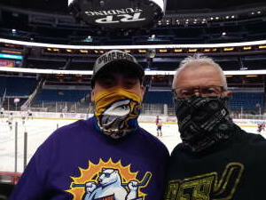 Dominic attended Orlando Solar Bears vs. Greenville Swamp Rabbits - ECHL - Tonight! on Apr 6th 2021 via VetTix