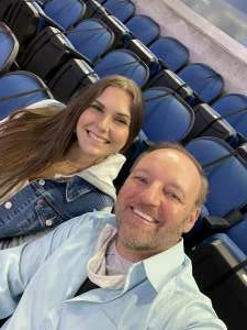 James attended Orlando Solar Bears vs. Greenville Swamp Rabbits - ECHL - Tonight! on Apr 6th 2021 via VetTix