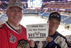 Dave attended Orlando Solar Bears vs. Greenville Swamp Rabbits - ECHL - Tonight! on Apr 6th 2021 via VetTix