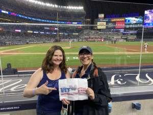 Allison Churchill attended New York Yankees vs. Baltimore Orioles - MLB - Premium Seating on Apr 6th 2021 via VetTix