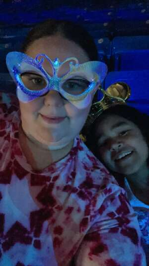 Queen Brooks attended Disney on Ice Presents Mickey's Search Party on May 5th 2021 via VetTix
