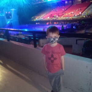Daniel attended Disney on Ice Presents Mickey's Search Party on May 5th 2021 via VetTix
