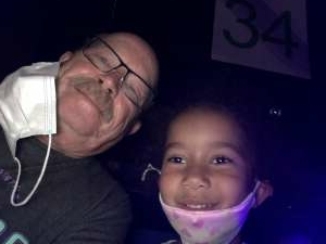 Michael Metzger attended Disney on Ice Presents Mickey's Search Party on May 5th 2021 via VetTix