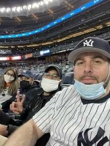Sonny Purcell attended New York Yankees vs. Baltimore Orioles - MLB - Premium Seating on Apr 7th 2021 via VetTix