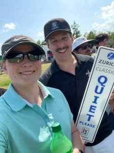 Rich attended Zurich Classic of New Orleans - PGA - Weekly Passes on Apr 21st 2021 via VetTix