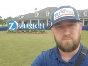 Drew attended Zurich Classic of New Orleans - PGA - Weekly Passes on Apr 21st 2021 via VetTix