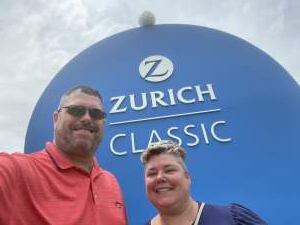 Ken attended Zurich Classic of New Orleans - PGA - Weekly Passes on Apr 21st 2021 via VetTix