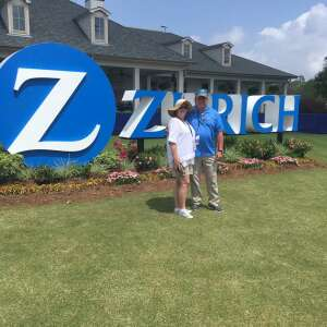 Brandon H attended Zurich Classic of New Orleans - PGA - Weekly Passes on Apr 21st 2021 via VetTix