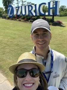 Garrett M attended Zurich Classic of New Orleans - PGA - Weekly Passes on Apr 21st 2021 via VetTix