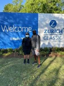 Paul  attended Zurich Classic of New Orleans - PGA - Weekly Passes on Apr 21st 2021 via VetTix