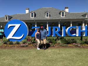 David attended Zurich Classic of New Orleans - PGA - Weekly Passes on Apr 21st 2021 via VetTix