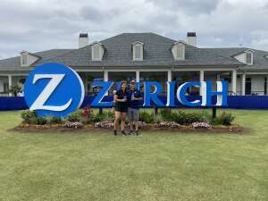 Nick attended Zurich Classic of New Orleans - PGA - Weekly Passes on Apr 21st 2021 via VetTix