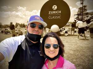 Mark Kern attended Zurich Classic of New Orleans - PGA - Weekly Passes on Apr 21st 2021 via VetTix