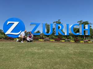 MSgt Lochren attended Zurich Classic of New Orleans - PGA - Weekly Passes on Apr 21st 2021 via VetTix