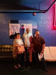 Todd Wagoner attended Michael Winslow Comedy in Louisville on Jun 12th 2021 via VetTix