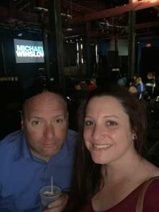 Sarah Schneider attended Michael Winslow Comedy in Louisville on Jun 12th 2021 via VetTix