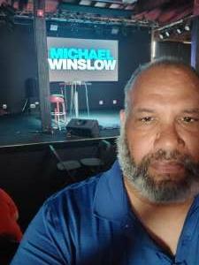 Eric attended Michael Winslow Comedy in Louisville on Jun 12th 2021 via VetTix