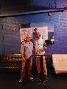 Jack attended Michael Winslow Comedy in Louisville on Jun 12th 2021 via VetTix