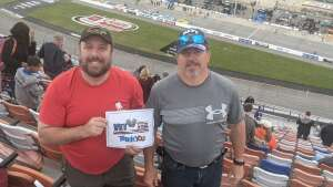 Joseph Lobban attended Toyota Owners 400 - NASCAR on Apr 18th 2021 via VetTix