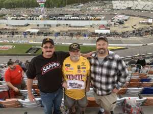 Dave attended Toyota Owners 400 - NASCAR on Apr 18th 2021 via VetTix