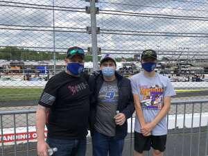Joshua attended Toyota Owners 400 - NASCAR on Apr 18th 2021 via VetTix
