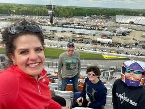 MolnRuss attended Toyota Owners 400 - NASCAR on Apr 18th 2021 via VetTix