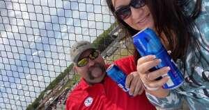 Brian  attended Toyotacare 250 - NASCAR on Apr 17th 2021 via VetTix