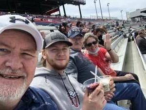 Kevin Fraser attended Toyotacare 250 - NASCAR on Apr 17th 2021 via VetTix