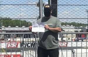 Michael attended Toyotacare 250 - NASCAR on Apr 17th 2021 via VetTix