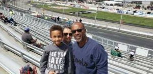 DCov attended Toyotacare 250 - NASCAR on Apr 17th 2021 via VetTix