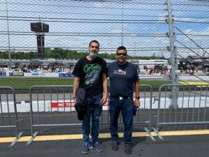Ray attended Toyotacare 250 - NASCAR on Apr 17th 2021 via VetTix