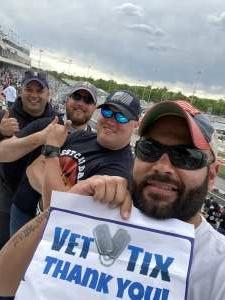 Jeremey Bills attended Toyotacare 250 - NASCAR on Apr 17th 2021 via VetTix