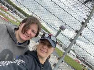 Glenia attended Toyotacare 250 - NASCAR on Apr 17th 2021 via VetTix