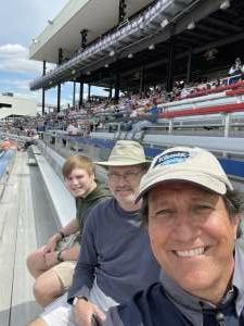 Billy attended Toyotacare 250 - NASCAR on Apr 17th 2021 via VetTix