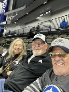 Texasterry  attended Jacksonville Icemen vs. Orlando Solar Bears - ECHL on Apr 15th 2021 via VetTix