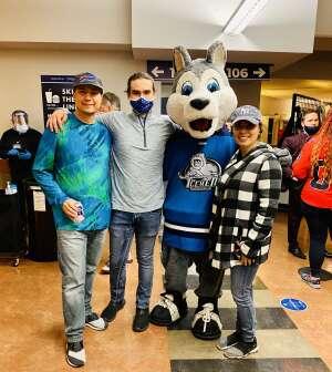 David attended Jacksonville Icemen vs. Orlando Solar Bears - ECHL on Apr 15th 2021 via VetTix