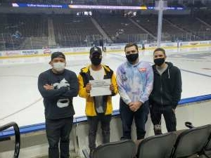 AC attended Jacksonville Icemen vs. Orlando Solar Bears - ECHL on Apr 15th 2021 via VetTix