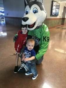Celeste  attended Jacksonville Icemen vs. Orlando Solar Bears - ECHL on Apr 15th 2021 via VetTix