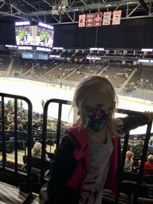 Recker attended Jacksonville Icemen vs. Orlando Solar Bears - ECHL on Apr 15th 2021 via VetTix