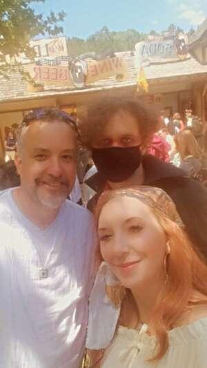 Ernie Rude attended Georgia Renaissance Festival on May 1st 2021 via VetTix