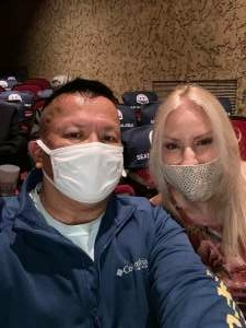 Grateful Marine attended The Eagles Greatest Hits performed by Classic Albums Live on Apr 17th 2021 via VetTix