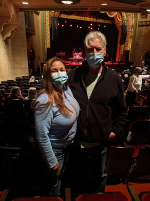 Cliff attended The Eagles Greatest Hits performed by Classic Albums Live on Apr 17th 2021 via VetTix