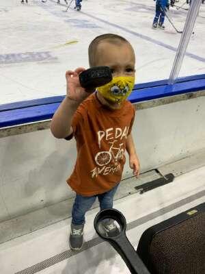 Bob attended Jacksonville Icemen vs. South Carolina Stingrays - ECHL on Apr 18th 2021 via VetTix